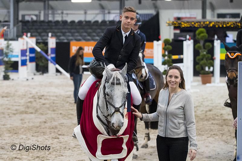 Gerrit Veenstra, After Pleasure Toltien, Jumping de Achterhoek