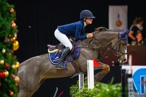 3 - Emma Bocken won met Dagma de In4Ambiance Prijs voor Children op 1.20m niveau